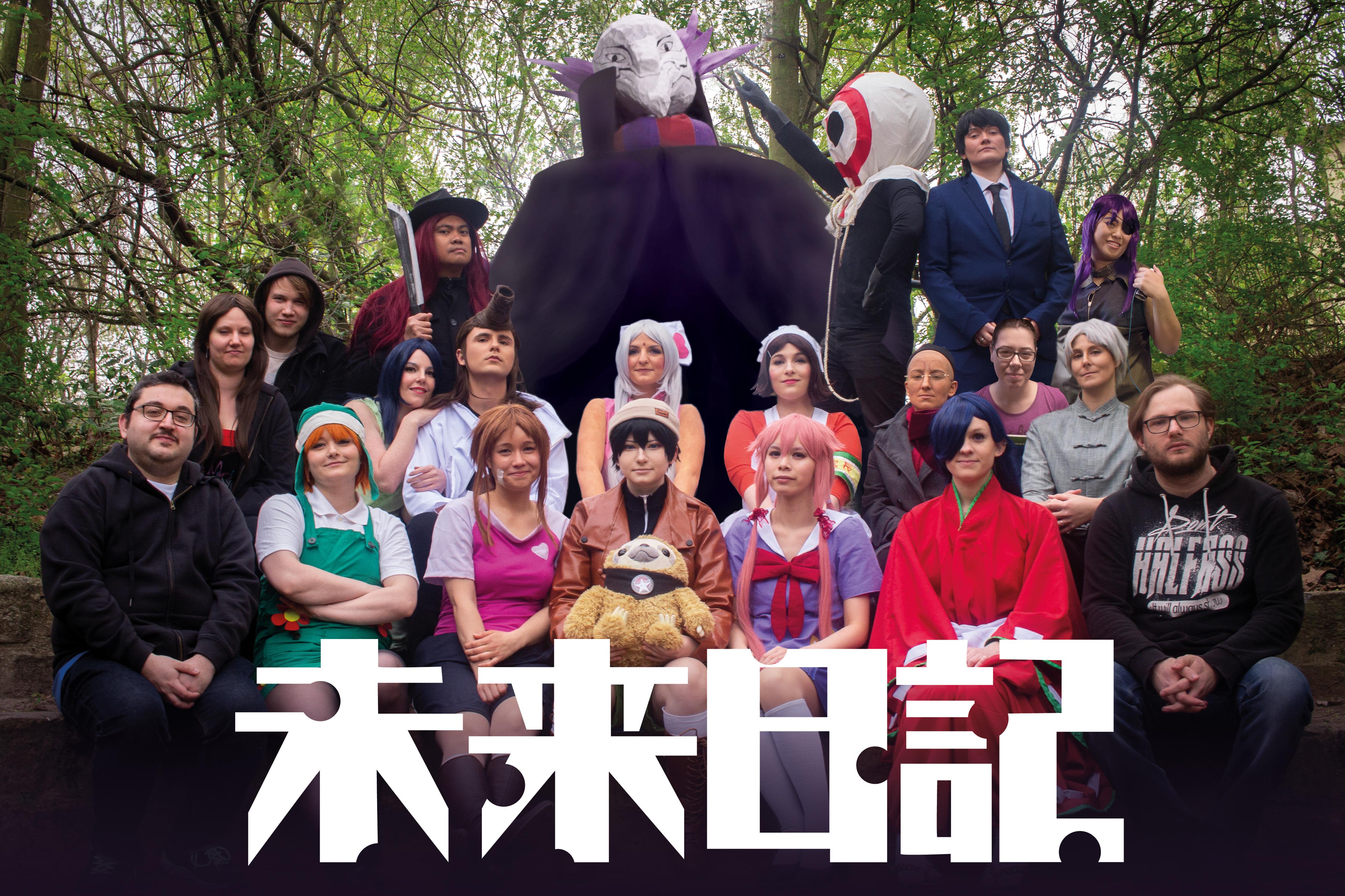 Tanoshii - Gruppenbild